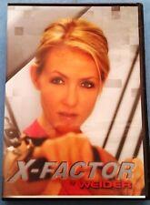 X-FACTOR by WEIDER 3 DVD Set Pilates + Fat Blaster + Hips Buns Thighs Workouts