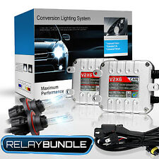 GENSSI Premium Bi-Xenon High Low HID Conversion Kit H13 9008 CANBUS Bulb 10000K