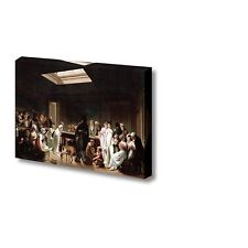 """Game of Billiards by Louis Leopold Boilly Giclee Canvas Prints- 24"""" x 36"""""""