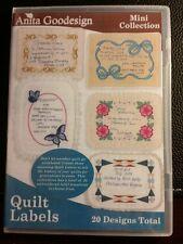 Anita Goodesign - Quilt Labels