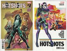 DOMINO HOTSHOTS #1 - 2 Book LOT - REG & 1:25 GONZALES VAR - NM/New/Unread Comics