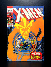 COMICS: Marvel: X-men #58 (1969, Vol 1), 1st Havok app - RARE