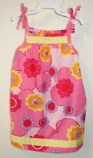 BN Hanna Andersson Pillowcase Dress With Matching Diaper Cover Girl's 80 10-24M