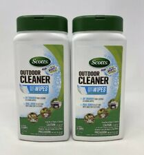 Scotts Plus Oxi Clean Outdoor Cleaner Heavy Duty Wipes 2 Pack(25 Wipes Per Pack)