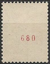 Timbres rouges avec 1 timbre