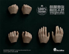 Worldbox 1/6 Scale Male Body Parts Handtypes 3 Pairs Hand Model F 12'' Figure