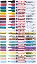 Edding 751 Lackmarker Creative Glanzlackmarker 1-2mm Lackstift paint marker ALLE