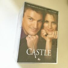 Castle Season 1-8 Complete TV Series 1 2 3 4 5 6 7 8 DVD 38-Disc Set Brand New