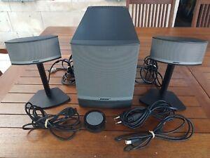 BOSE / COMPANION 5 - Enceintes satellites & caisson de basse PC ou Home cinéma