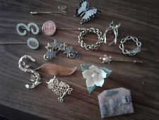 Lot Of 15 Fashion Pins some stones enamel Lucinda stick plus 9.99