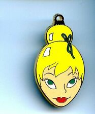 Disney Shopping Fairy Tinker Bell Face Holiday Ornament Series Le 250 Pin