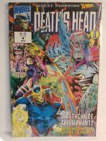 DEATH'S HEAD II - GUEST STARRING X-MEN # 4 March 1993 - MARVEL COMICS FREE Ship