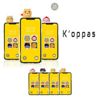 Official Kakao Friends Clear Bbakkom Phone Case Cover 100% Authentic
