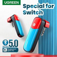 Ugreen Bluetooth 5.0 Transmitter 3.5mm Audio Adapter For Nintendo Switch APTX LL