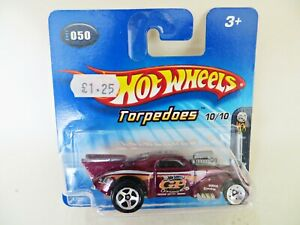 HOTWHEELS 'WILLYS COUPE'. TORPEDOES. 2005 FIRST EDITIONS. MIB/BOXED/SHORT CARD.