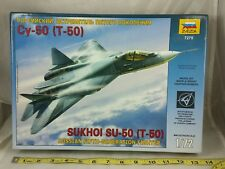 Zvezda  SUKHOI T-50 PAK FA  ZVE7275, SCALE 1/72, NEW OLD STOCK