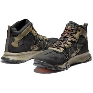 timberland GARRISON TRAIL WATERPROOF MID FABRIC BROWN US MENS SIZES TB0A28FT015