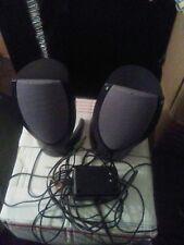 Harman Kardon HK206 Wired Computer Speakers w/ AC Power Supply