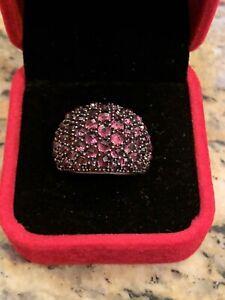 David Yurman Pink Stone Cable Ring 6.5