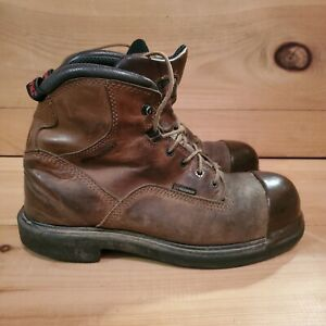 Red Wing Shoes 9D 4437 Steel Toe Boots with Tuff Toe Coating