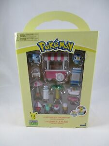 "Pokemon Petite Pals ""Lets Go To The Beach"" Playset Furniture New Tomy"