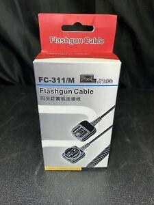 PIXEL FC-311 3.6M/10 FT E-TTL Off Camera Flash Sync Cord for Canon DSLR Cameras