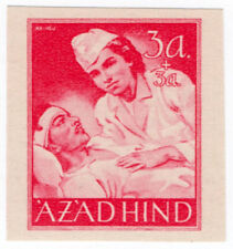 (I.B) India Cinderella : Azad Hind 3a + 3a (proof)
