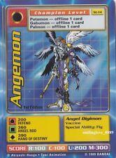 MINT DIGIMON DIGI-BATTLE CCG STARTER 2 CARD LOT - St-13 PATAMON + St-14 ANGEMON