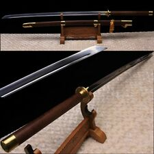 "High Quality Chinese Sword""Miao Dao""Katana High Carbon Steel Blade Brass Fitting"