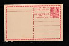 entier postal  carte 10 rouge  Autriche     neuf