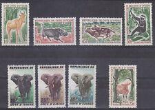 Lotje  Dieren Repl. Ivoorkust   1963 met olifanten   MNH                BLz.41
