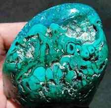 1.16LB Green MALACHITE stone Chatoyant CRYSTAL GEM