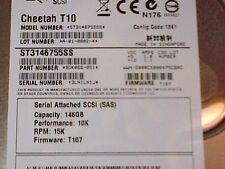 "SEAGATE Cheetah T10 - ST3146755SS - 9DK066-051 3.5"" SAS SCSI Hard Drive"
