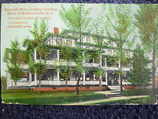 1911 Kentucky Home, Leading Boarding House Hendersonville, NC PC