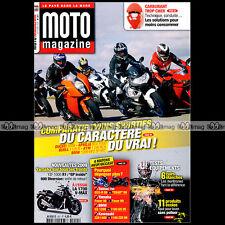 MOTO MAGAZINE N°251 KAWASAKI Z750 DUCATI 1098 KTM 1190 RC8 YAMAHA 1700 VMAX 2008