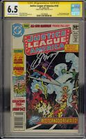 JUSTICE LEAGUE OF AMERICA #193 - CGC 6.5 - SIGNED BY GERRY CONWAY - 1591789009