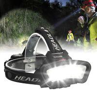 1000000LM COB+ LED Headlamp Headlight Torch USB Rechargeable Flashlight Work RC