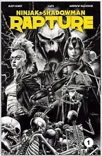RAPTURE #1 1:50 MICO SUAYAN B&W SKETCH VARIANT FIRST PRINT VALIANT COMICS VEI VF