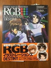 Mobile Suit Gundam Seed RGB Illustrations Art Book [Destiny] Tomofumi / Takaharu