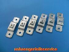 Rungenhalter für Kasten Anhänger Bordwanderhöhung verzinkt ohne Schraube L9101.6