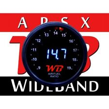 APSX D2 Wideband O2 Air Fuel Ratio Controller Gauge (Black-White) No Sensor