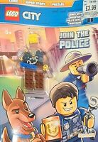 Official Lego City (with figurine) NEW Hardback Book