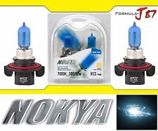 Nokya 7000K White 9008 H13 Nok7228 100/80W Two Bulb Head Light Dual Beam Replace