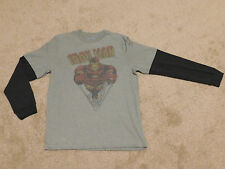 BOYS OLD NAVY IRON MAN LONG SLEEVE TEE / T-SHIRT - Size X-Large (New With Tags)