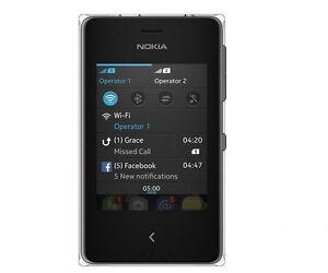 """Nokia Asha 502 Dual SIM Touch Screen SmartPhone 3"""" 5MP Camera Original cellphone"""