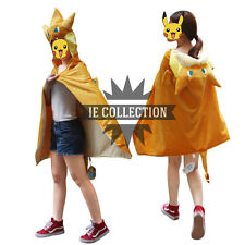 POKEMON MEGA CHARIZARD COSPLAY VESTITO MANTELLA poncho pikachu Cape charmander