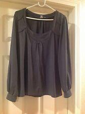 Halogen New Grey blouse