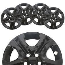 """4 Black 17"""" Hub Caps Full Rim R17 Wheel Covers For 2013-2018 Toyota Rav4"""