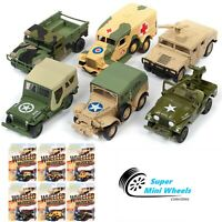 Johnny Lightning 1:64 Wheeled Warriors 2019 Release 2 Version A  6-Piece Case