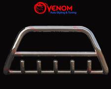 For NISSAN X-TRAIL T30 2001-2007 Chrome Bull Bar Axle Push Nudge Bar Rust Free